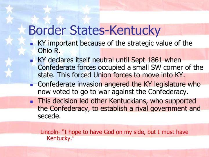 Border States-Kentucky