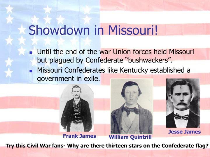 Showdown in Missouri!
