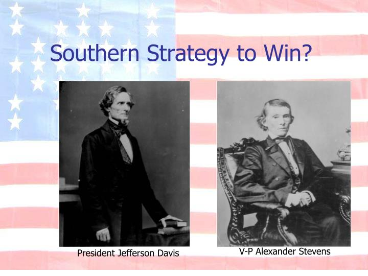Southern Strategy to Win?