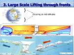 3 large scale lifting through fronts