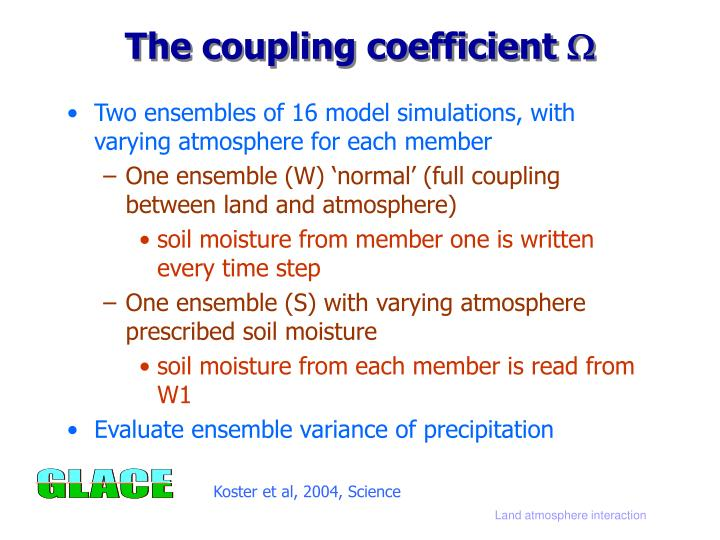 The coupling coefficient