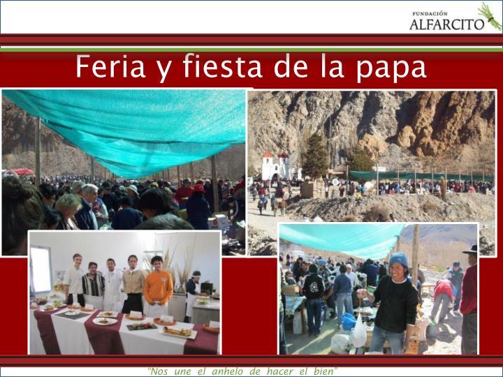 Feria y fiesta de la papa