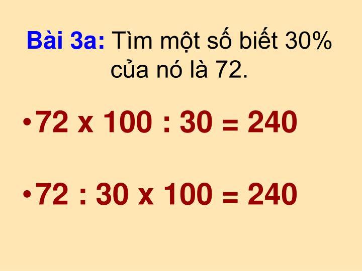 Bài 3a: