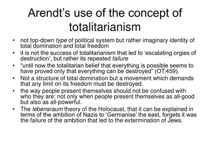 Arendt domination hannah total