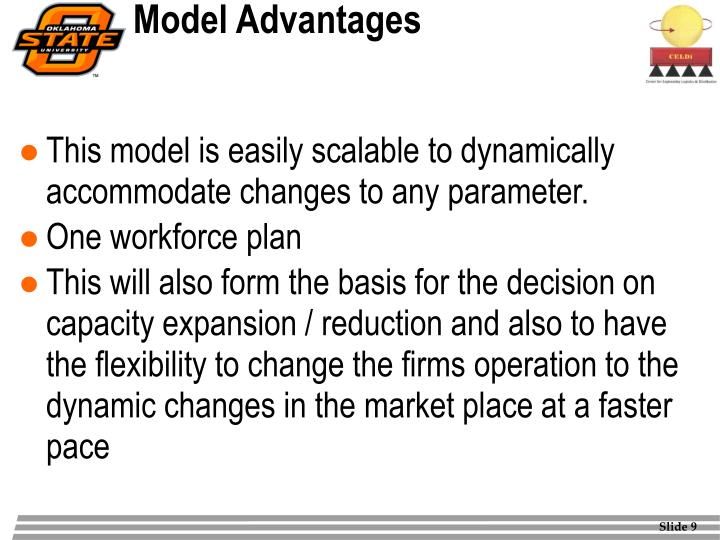 Model Advantages