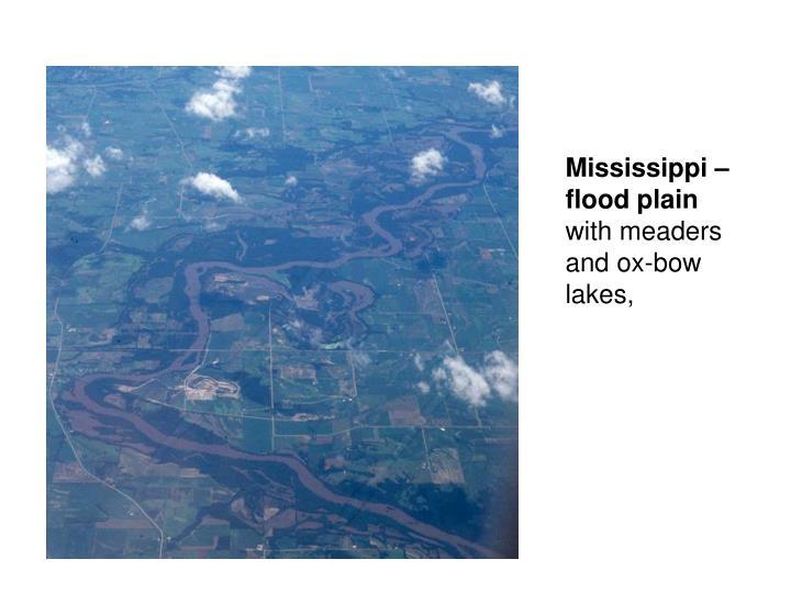 Mississippi – flood plain