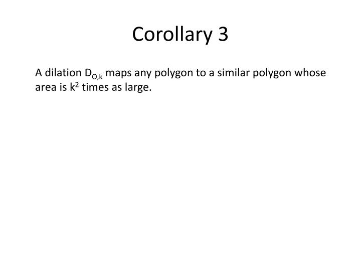 Corollary 3