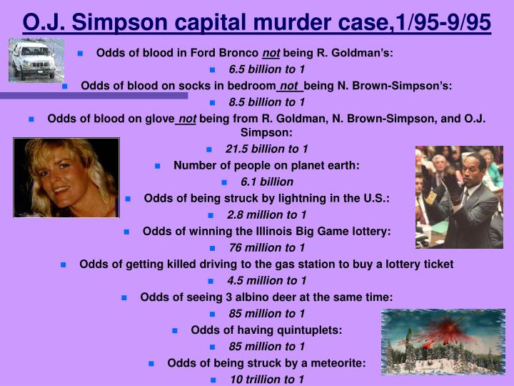O.J. Simpson capital murder case,1/95-9/95