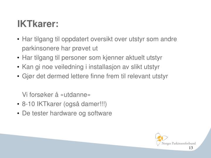 IKTkarer: