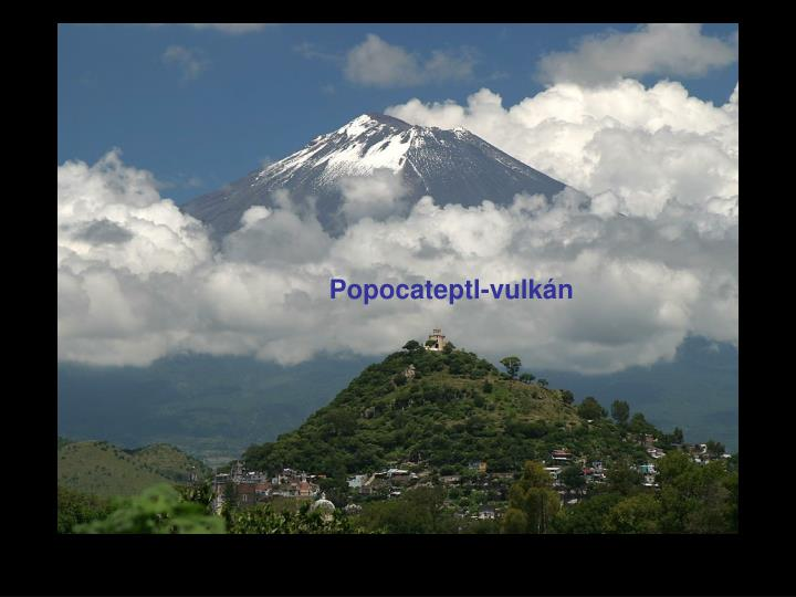 Popocateptl-vulkán
