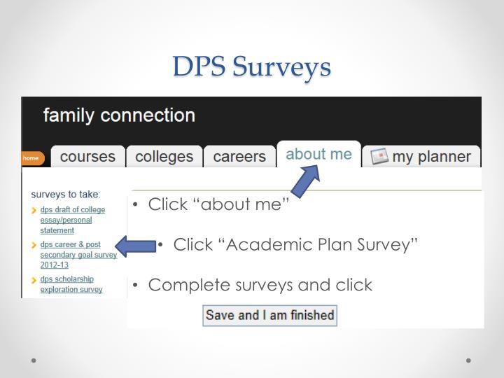 DPS Surveys