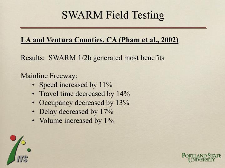 SWARM Field Testing