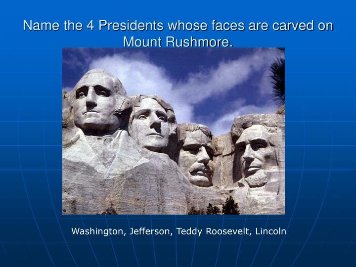 Ppt Presidential Trivia Powerpoint Presentation Id 5498898