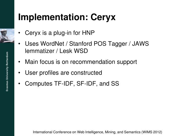Implementation: Ceryx