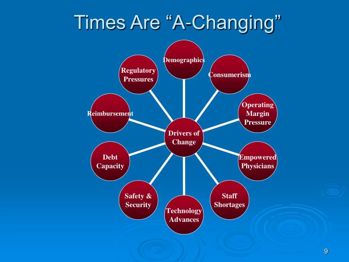"Times Are ""A-Changing"""