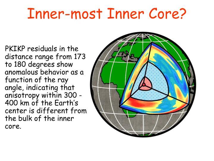 Inner-most Inner Core?