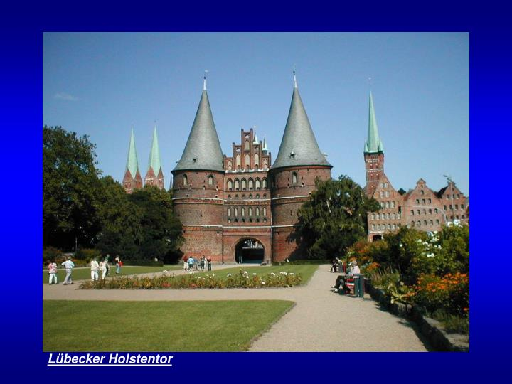 Lübecker Holstentor