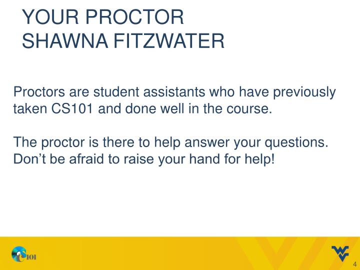Your Proctor