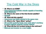 the cold war in the skies
