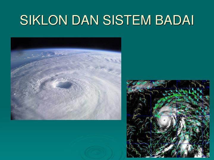 SIKLON DAN SISTEM BADAI