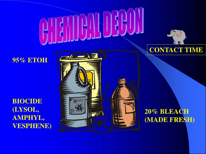 CHEMICAL DECON