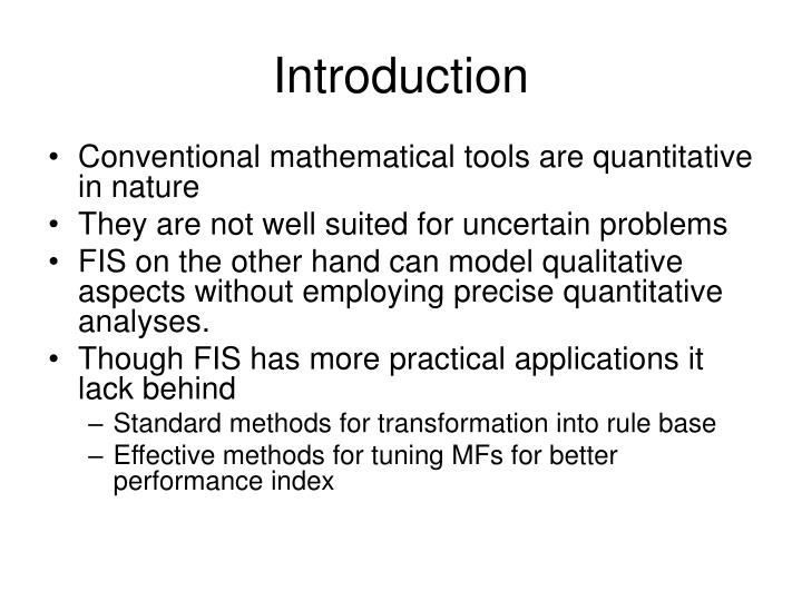 precise fuzzy inference systems Precise input information versus conventional mathematical models recently,  the improved  in a mixed adaptive neuro-fuzzy inference system (anfis)(38.