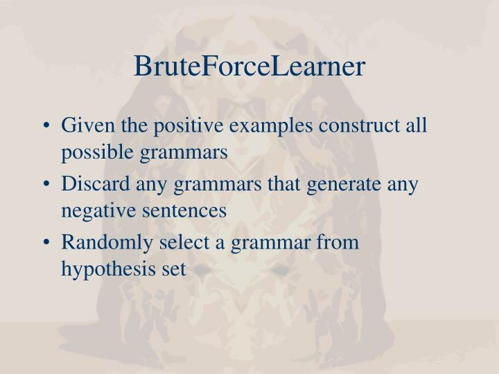 BruteForceLearner