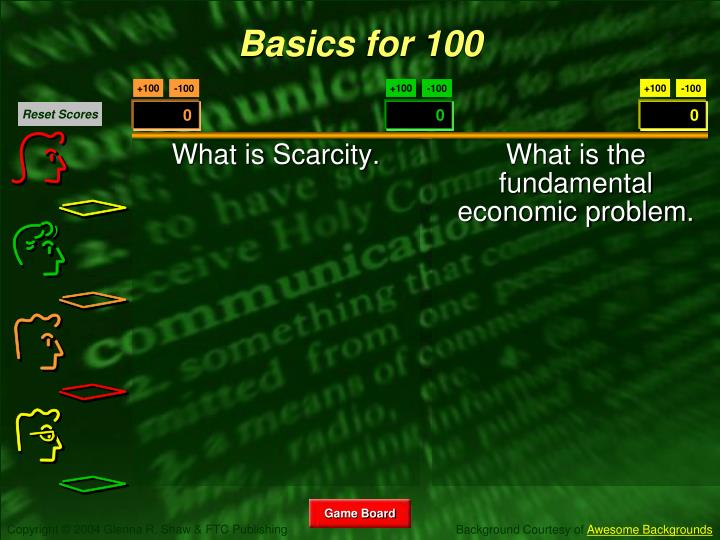 What is Scarcity.