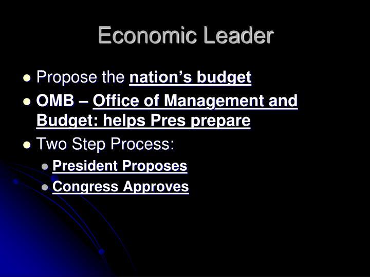 Economic Leader