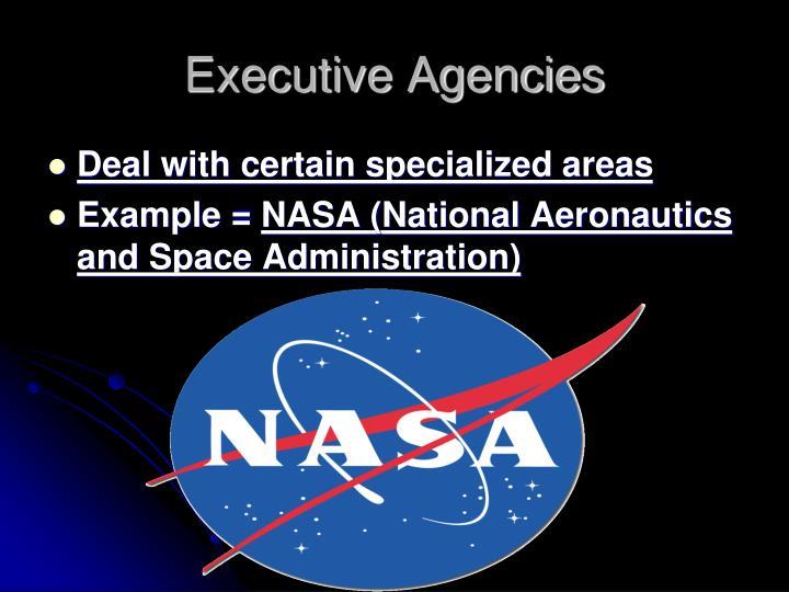 Executive Agencies