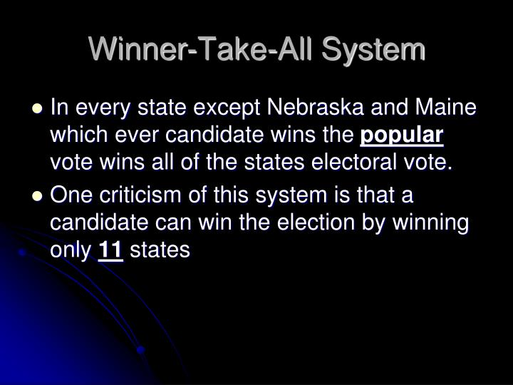 Winner-Take-All System