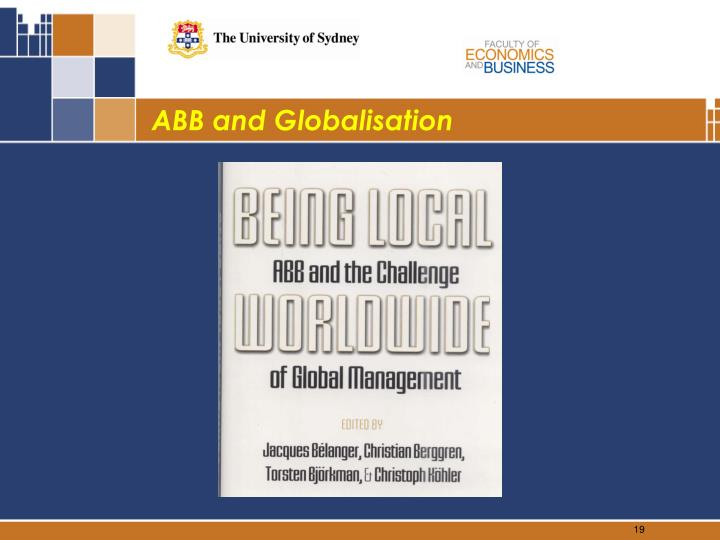 ABB and Globalisation