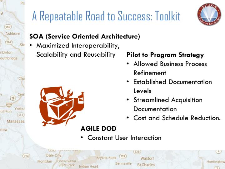 A Repeatable Road to Success: Toolkit