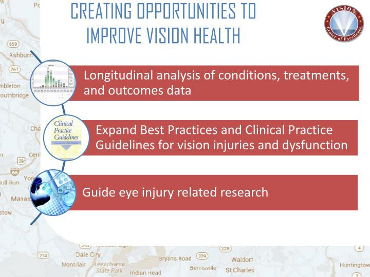 CREATING OPPORTUNITIES TO IMPROVE VISION HEALTH