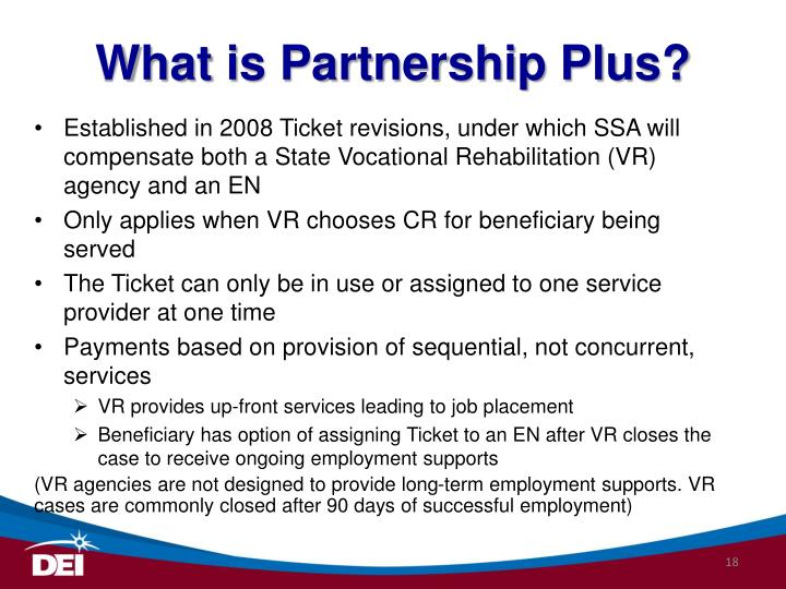 What is Partnership Plus?