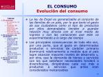 el consumo evoluci n del consumo6