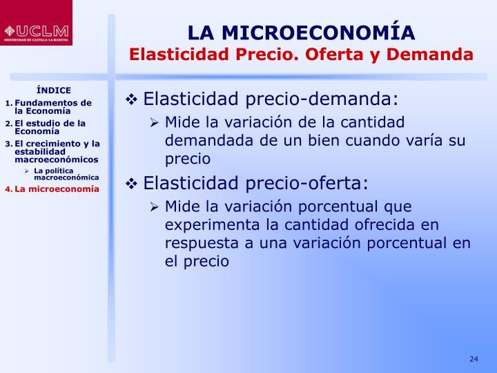 LA MICROECONOMÍA