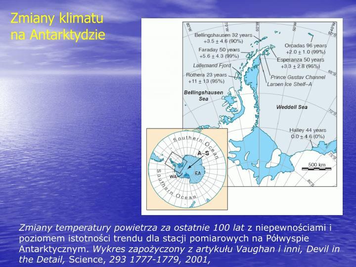 Zmiany klimatu na Antarktydzie