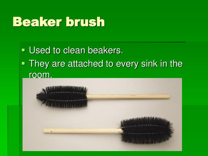 Beaker brush