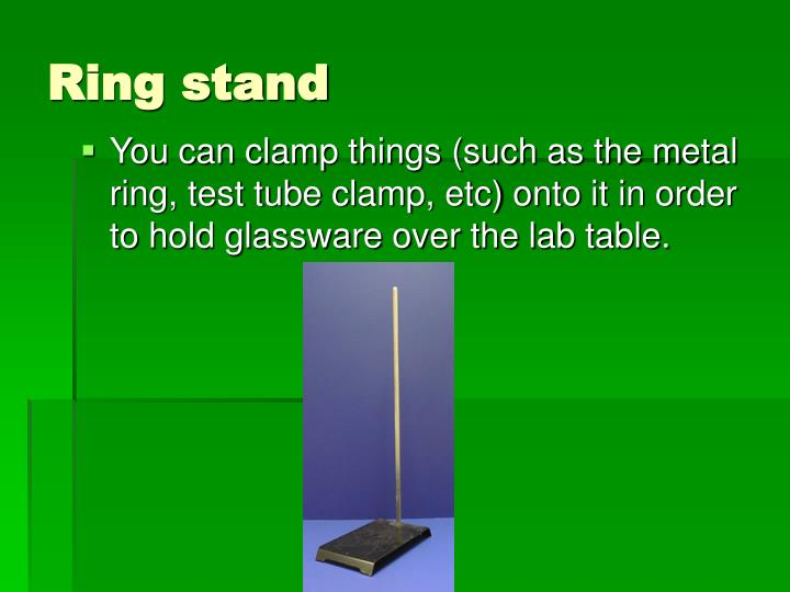 Ring stand
