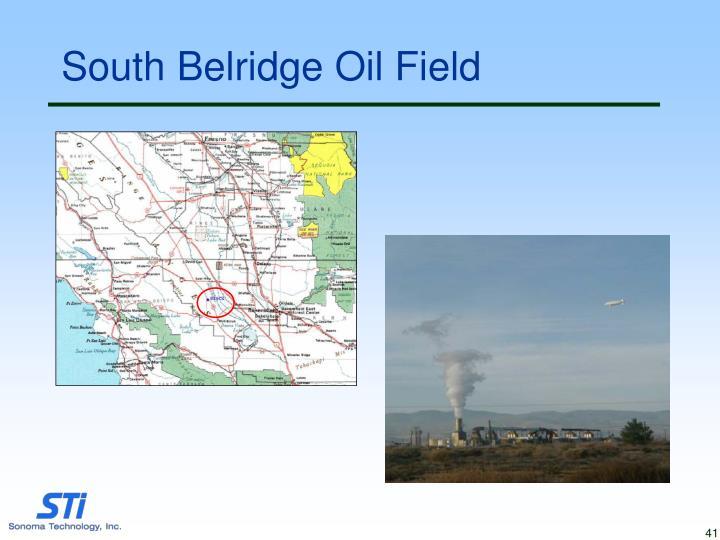 South Belridge Oil Field