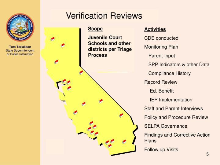Verification Reviews