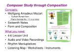 composer study through composition