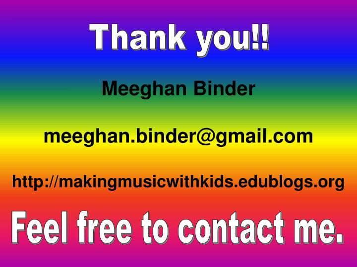 Meeghan Binder