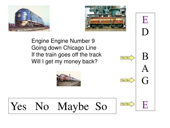 Engine Engine Number 9