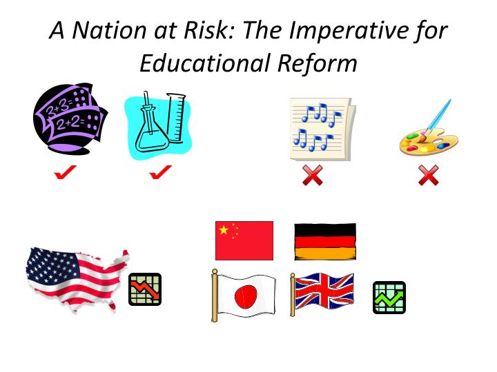 A Nation at Risk: The Imperative for Educational Reform