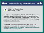 federal housing administration1