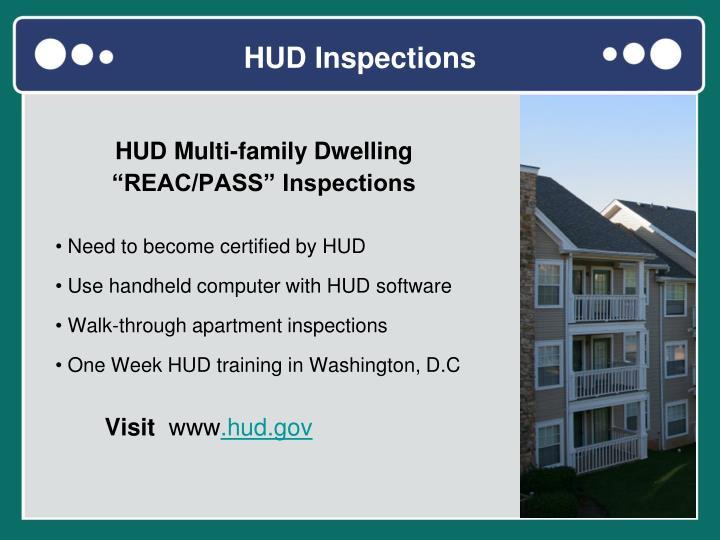 HUD Inspections