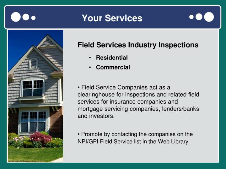 Your Services