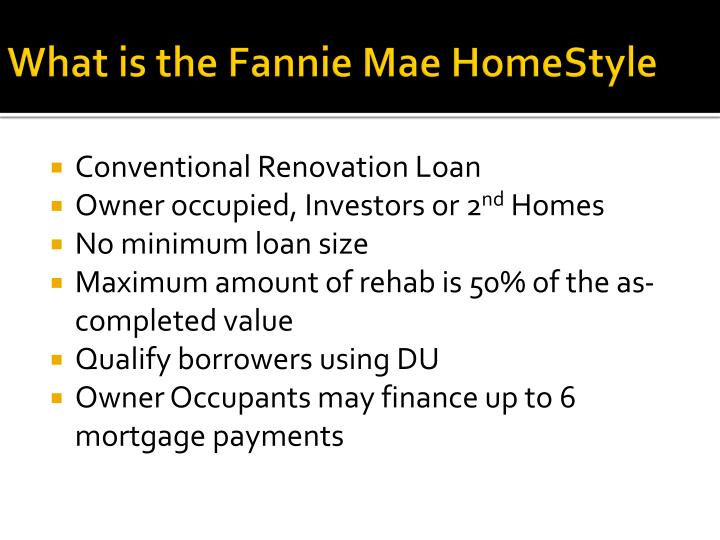 What is the Fannie Mae